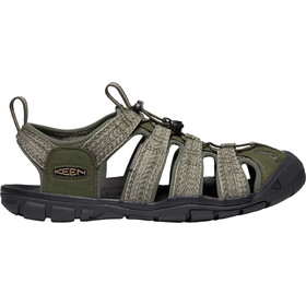 Keen Clearwater CNX Sandals Herre forest night/black